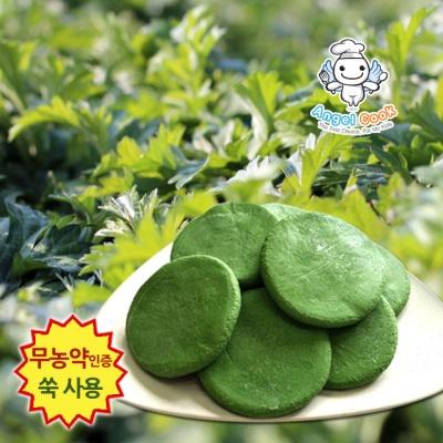 [엔젤쿡] 자연담은 거문도 해풍쑥 생쑥개떡 1kg  AGCGSM0101