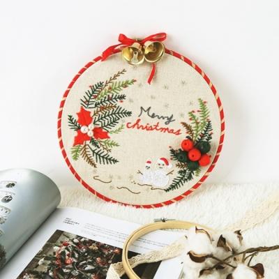 프랑스자수 DIY 패키지 메리크리스마스