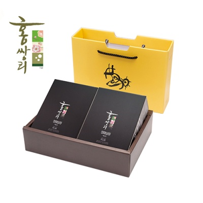 홍쌍리 유기농 매실 매실청 파우치 2박스 선물세트