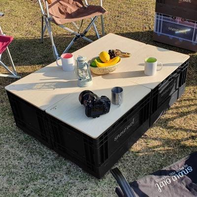 스노우아울 유틸리티 폴딩박스 블랙 시크릿