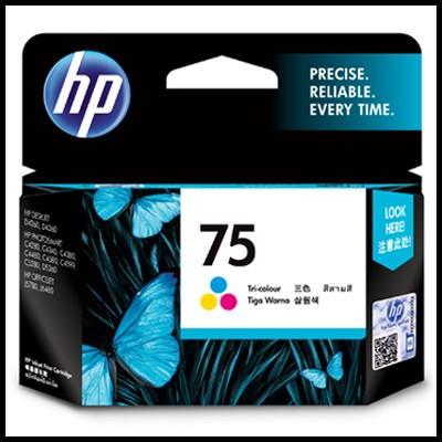 HP 정품 CB337WA (75) CB337 HP75 OJ J5780/J6480 Photosmart C4280/C4345/C4380/C4385/C4480/C4580/C4599/C5240/C5280/D5360 DJ D4260/D4360