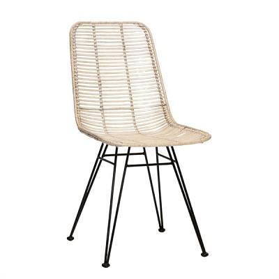 [Hubsch]Studio chair, whitewash 118020 디자인체어
