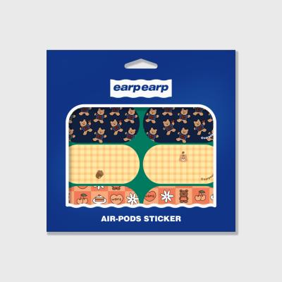 Earpearp air pods sticker pack-green