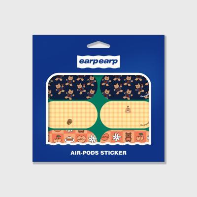 Earpearp air pods sticker pack-green