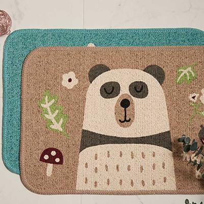 MODERN Happy Panda Mat 35x50cm 랜덤
