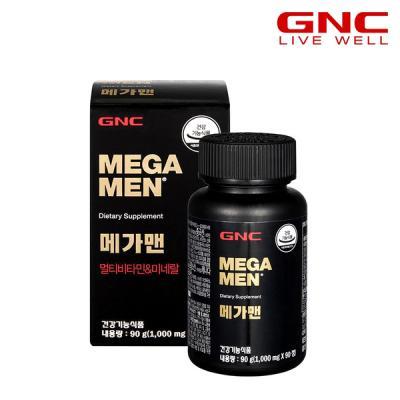 [GNC] 메가맨 멀티비타민 앤 미네랄 (90정) 45일분