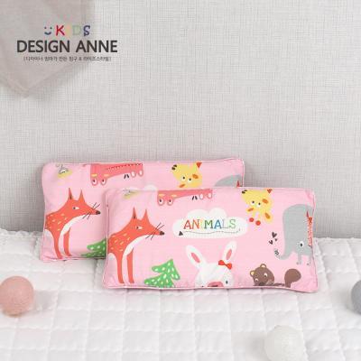 알러지케어 애니멀즈 키즈메모리폼베개-핑크