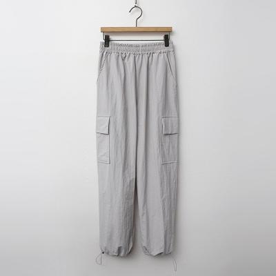 Nylon Pocket Jogger Pants
