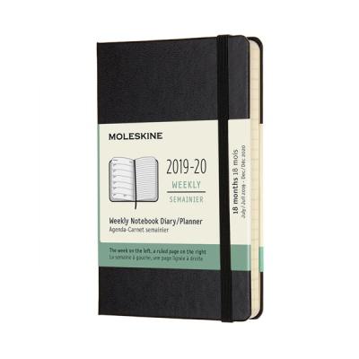 몰스킨 2020위클리(18M)/블랙 하드 P