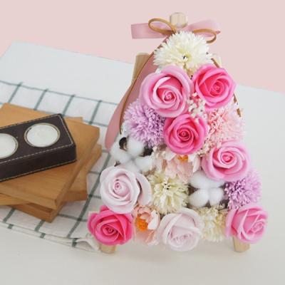 감동샵 비누꽃 축하 미니화환