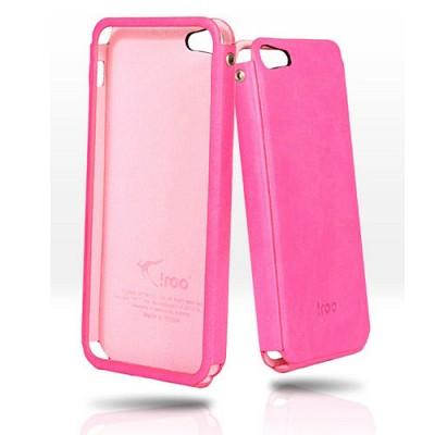 아이루 아이폰5가죽케이스/슬림/이태리원단/LNP4i5 핑크/iphone5