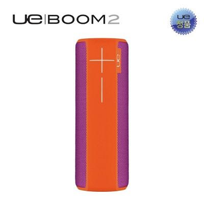 [UE]360도 사운드 방수 블루투스스피커 UE 붐2 오렌지바이올렛
