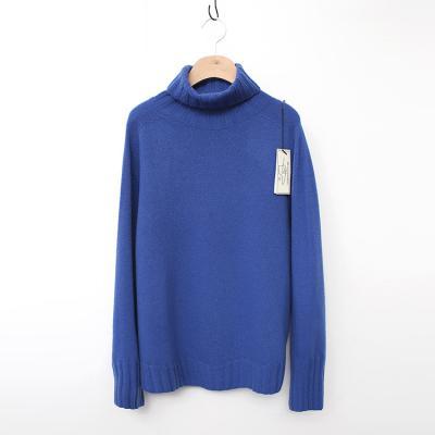 Laine Cashmere Wool Basic Turtleneck Sweater