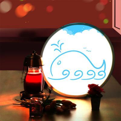 ne576-LED액자45R_고래의꿈