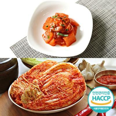 [HACCP] 한옹 꼴깍 400g + 포기김치 3kg