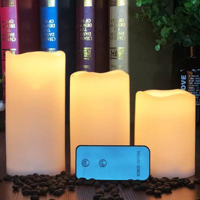 LED 캔들 촛불 전자양초 3p 세트 무드등 리모컨포함