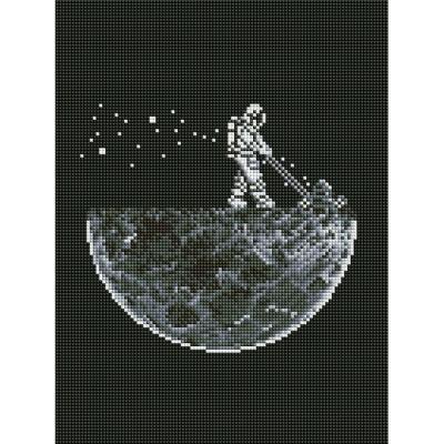 달을 따다줘 (캔버스형) 보석십자수 30x40