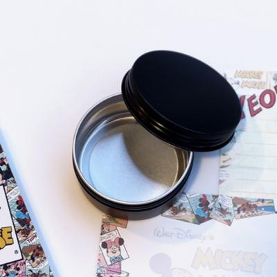 갓샵 원형 틴케이스 블랙 80ml 알루미늄 캔 케이스