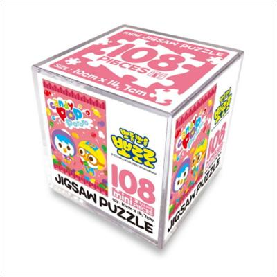 뽀롱뽀롱 뽀로로 108pcs 미니직소퍼즐: 핑크캔디