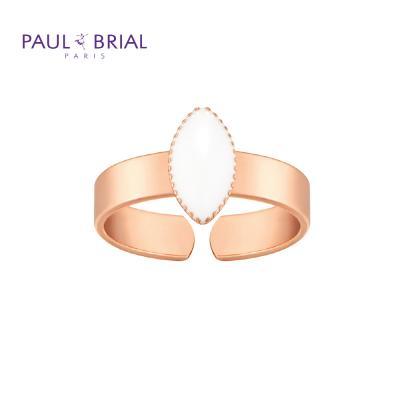 폴브리알 PYBR0110 (PG) 마퀴즈 밴드 반지 WHITE