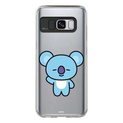 BT21 Galaxy S8 / S8 Plus 코야 라이팅 케이스 (Soft 타입)