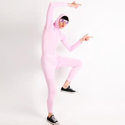쫄쫄이의상 (반바지 포함) -핑크