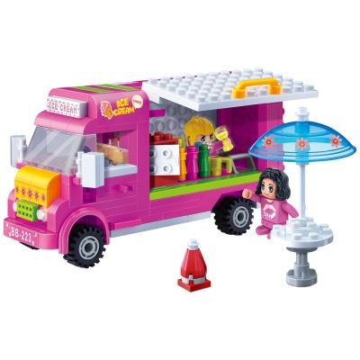 [3D퍼즐마을][반바오] BO6117 아이스크림 트럭