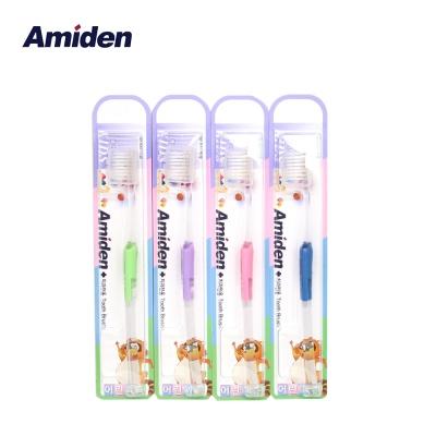 아미덴 플러스 어린이 칫솔 12개 (색상랜덤)