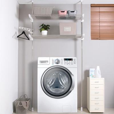 세탁기접이식정리선반2단