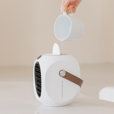 미니에어컨 에어쿨러 냉풍기 휴대용 가정용 선풍기