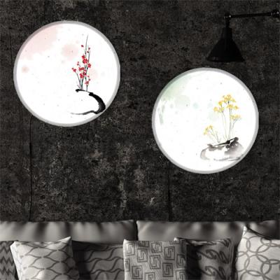 nh417-LED액자45R_아름다운꽃과화병포인트조명