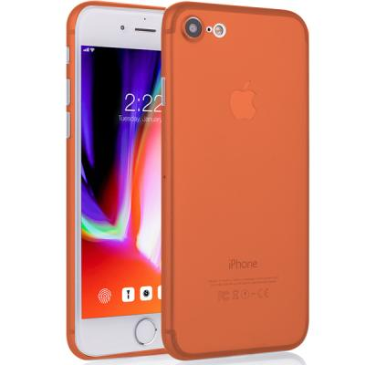아이폰 8 에어슬림 오렌지 케이스