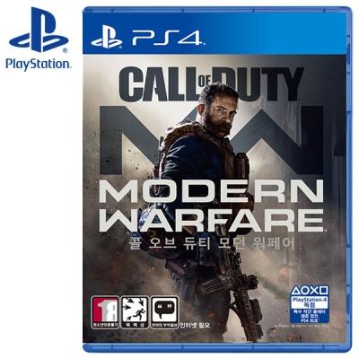 PS4 콜오브듀티 모던 워페어 MW 한글판