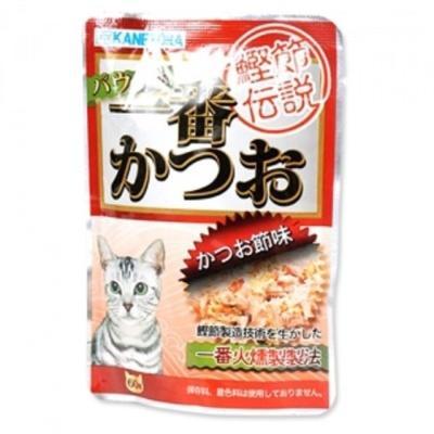 냥이 고양이 생선 사료 간식 가다랑어 파우치 60g