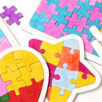 동물 모양 퍼즐만들기 11종