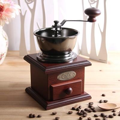 클래식 엔틱브라운 커피 분쇄기