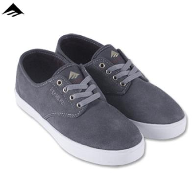 [EMERICA] LACED BY LEO ROMERO (Grey/Light Grey/Red)