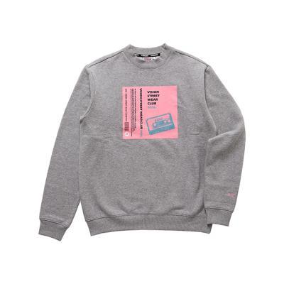 비젼스트릿웨어 스웨트 티셔츠 VISW304UN GRAY