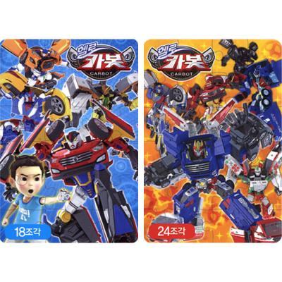 18 24조각 소프트퍼즐 - 헬로 카봇 (2종)