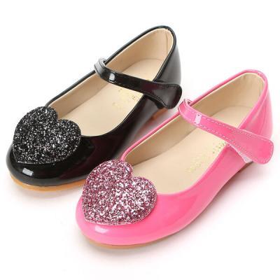 쁘띠 하트구두 160-200 유아 아동 키즈 구두 신발