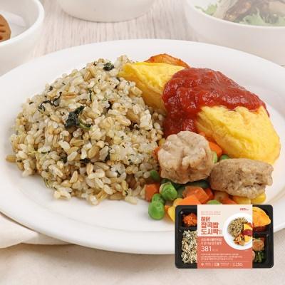 [허닭] 잡곡밥 도시락 곤드레나물현미밥 250g 1+1