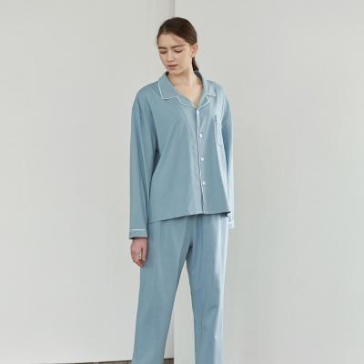 온리원 파자마 세트 - 블루