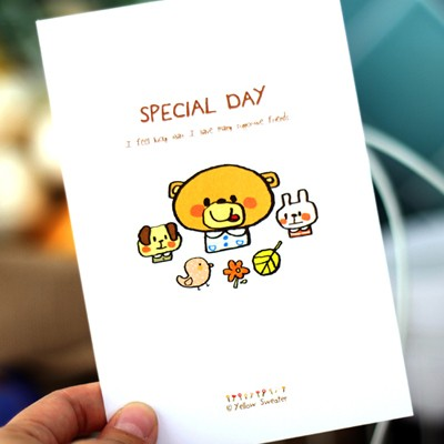 POSTCARD-SPECIAL DAY