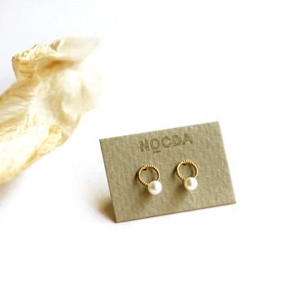 14k gold pearl ring earring (세트)