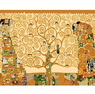 DIY 명화그리기 - DIY  클림트의생명의나무 (GX6959) 40x50 그림 (유화/그림그리기/직접그리기/아크릴/취미/색칠)