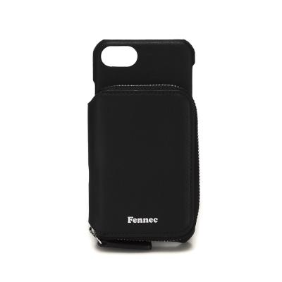 FENNEC LEATHER iPHONE 7/8 MINI POCKET CASE - BLACK