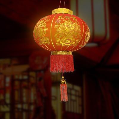 행운 대박복홍등 고급형 60cm 중국전통 인테리어 소품