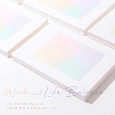 `Work & Life Balance` 워라밸 플래너 (6개월,만년형)