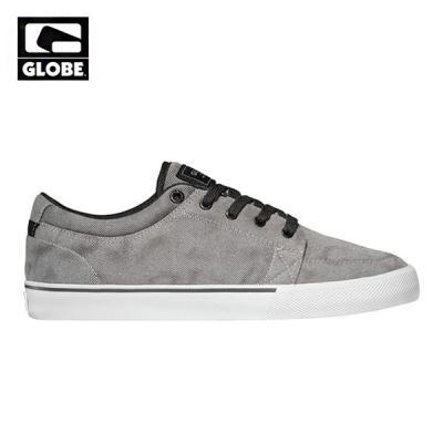 [GLOBE] GS (WHITE DENIM/BLACK)
