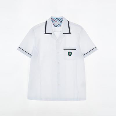 [교복아울렛] 남자 화이트 반팔셔츠 (분당 곤지암고)